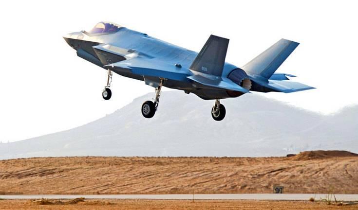 Израиль впервые применил F-35 в бою в Сирии