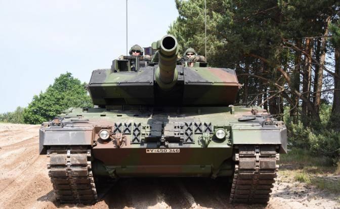 Немецкий «Леопард» будет жечь «Армату», как «Тигр» жег Т-34
