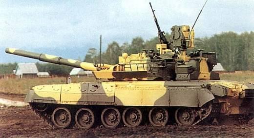 Русский танк Т-80У-М1