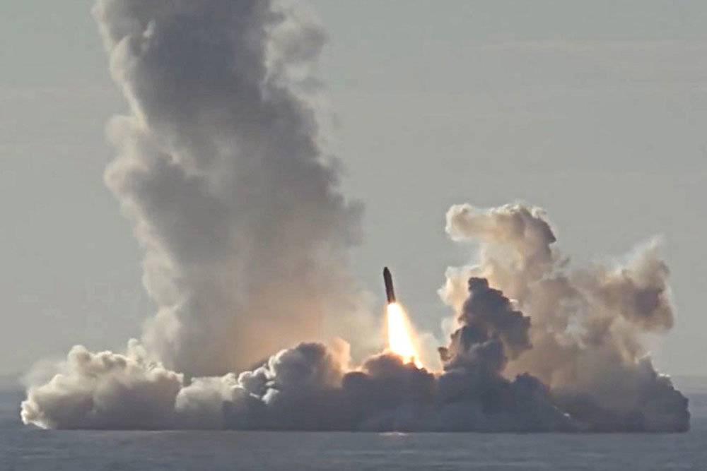 Мощь ракетного залпа