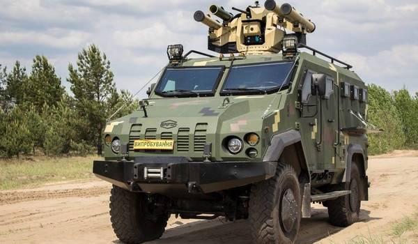 Украина испытала новый боевой блок