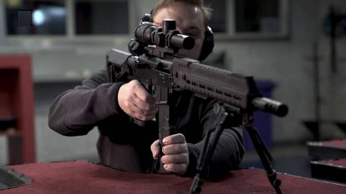 Первый в своем роде: в Сети появилось видео стрельбы карабина SR1