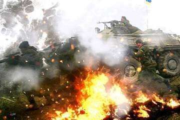 Сражения на Донбассе: партизаны подрывают танки и автомобили ВСУ