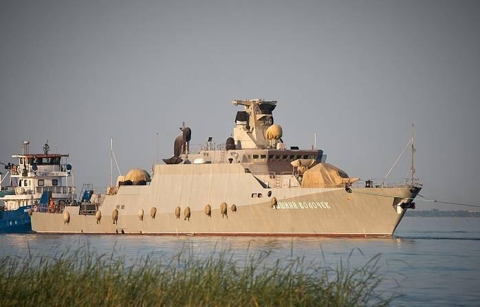 «Морской палач»: МРК «Вышний Волочек» с «Калибрами» прибыл в Крым