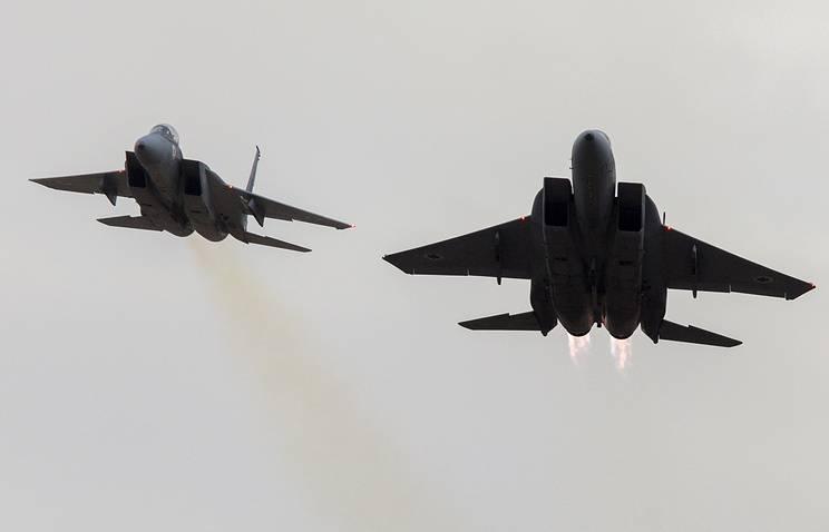 ВВС Израиля нанесли удар по позициям ХАМАС в секторе Газа