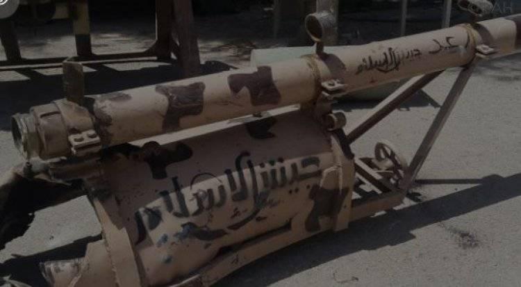 Крупный тайник в Дамаске: схрон боевиков показал обилие интересных находок