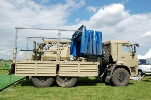 На полигоне Росгвардия показали КАМАЗ с 30-мм пушкой