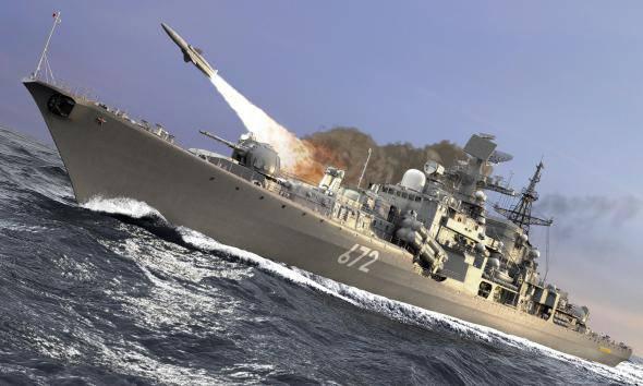 Российский «Москит» успешно поразил цель в Японском море
