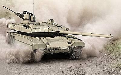 Модернизированный основной танк Т-90М с 30-мм автоматической пушкой