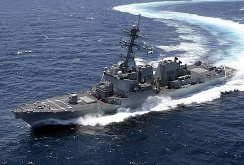 Штаты наращивают военный флот: эсминец «Thomas Hudner» передан ВМФ США