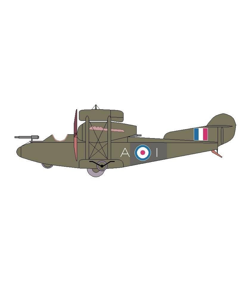 Проект среднего бомбардировщика Sage Type 1. Великобритания
