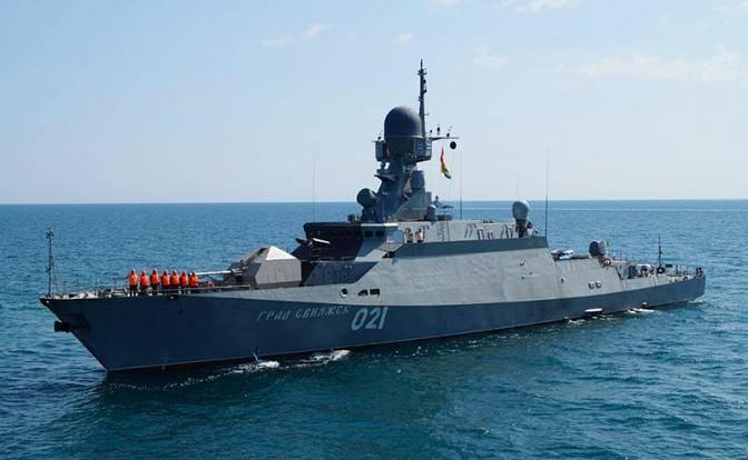 Астраханские «Буяны» против авианосца «Гарри Трумэн»