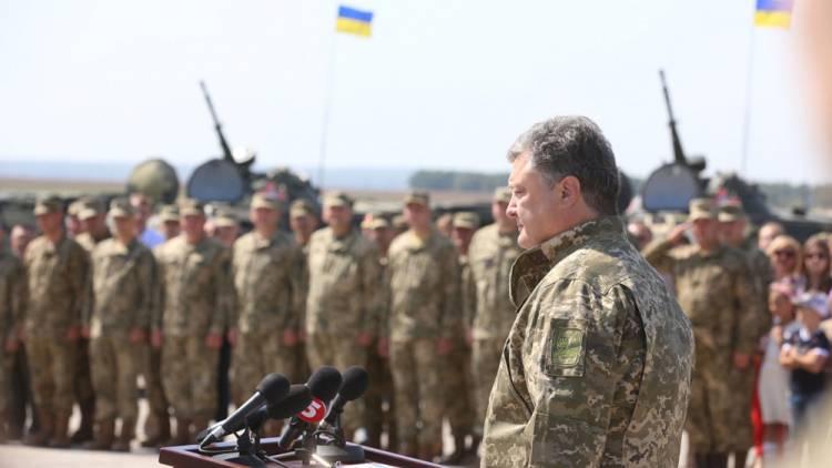 Порошенко подписал указ о призыве в ВСУ непригодных к службе украинцев