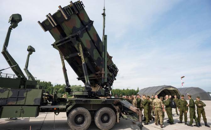 Patriot США будет сбивать русские ракеты над Украиной