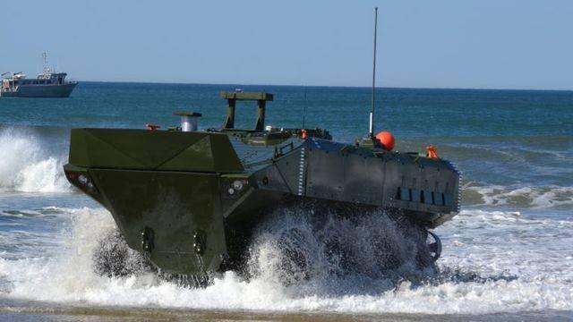 Новая боевая амфибия для морской пехоты США