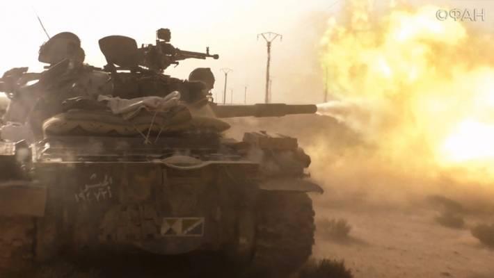 Артиллерия и ракеты «земля-земля»: САА начала крупный штурм оплота боевиков