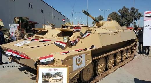 В Ираке из садаммовского металлолома создали бронемутанта BMTLP