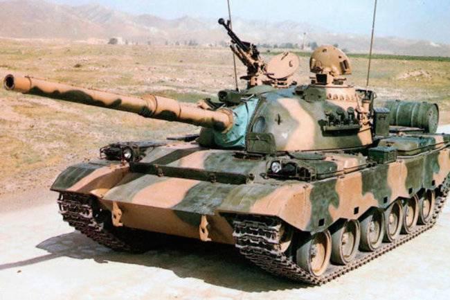Редкие китайские танки Тип 88 остаются в строю