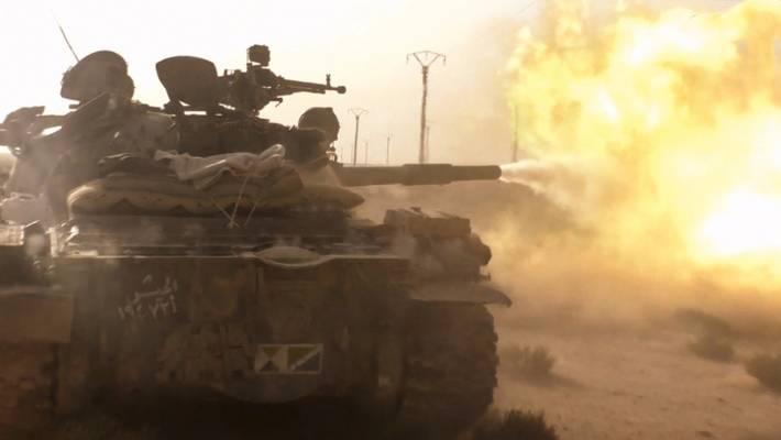 Бои за Херак: появились кадры уничтожении логова боевиков в провинции Даръа