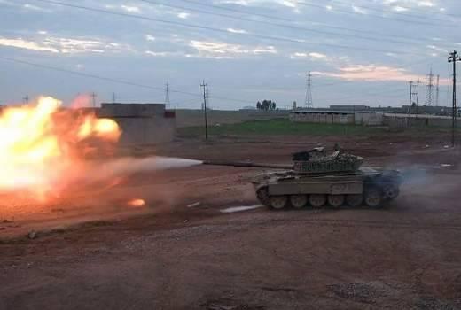 В Ираке замечен Т-72М1 с усиленной круговой защитой башни