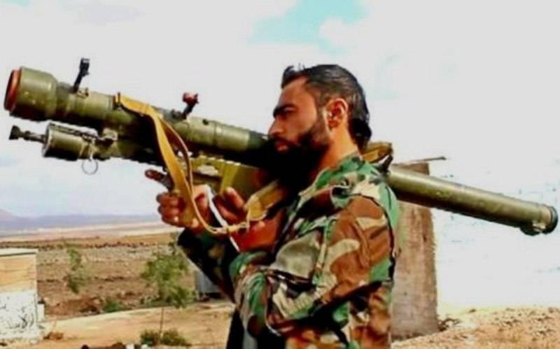 Возвращение ПЗРК сирийским пехотинцам и танкистам – признак перелома в войне