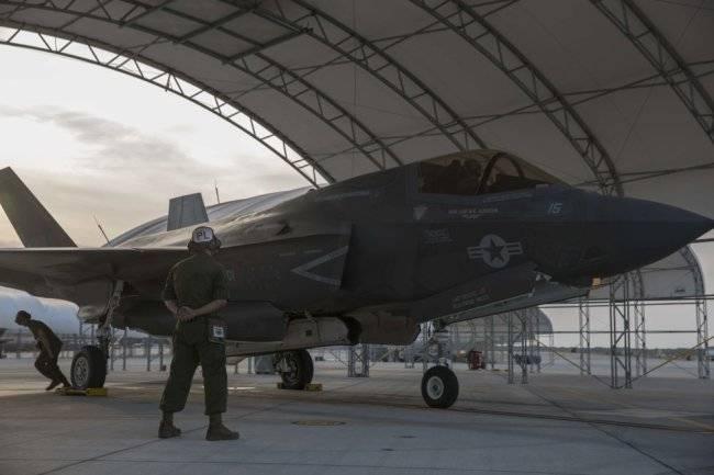 Морская пехота США лишилась первого F-35