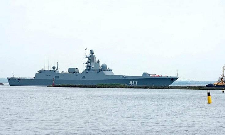 «Адмирал Горшков» вновь прошел мимо флота