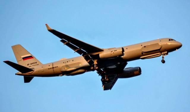 Новейший самолет спецназначения передан Минобороны