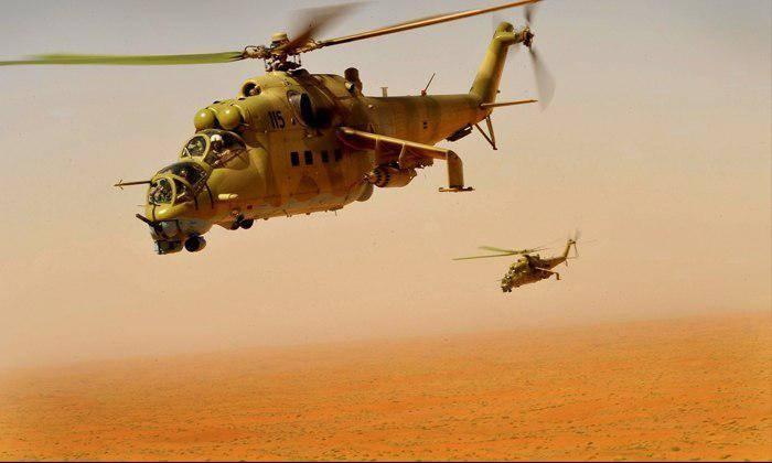 САА штурмуют вершину Телль аль-Харра: в бой бросили боевые вертолеты