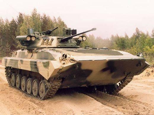Таманскую мотострелковую дивизию перевооружили на обновленные БМП-2М