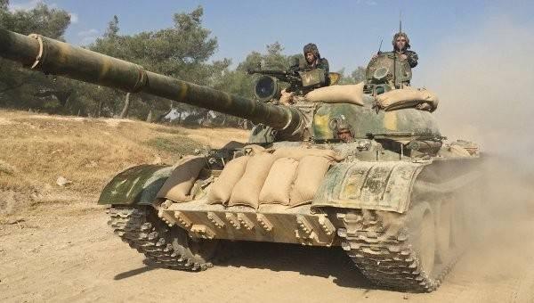 Успехи САА в Даръа: боевики сдали 26 танков и сотни единиц оружия
