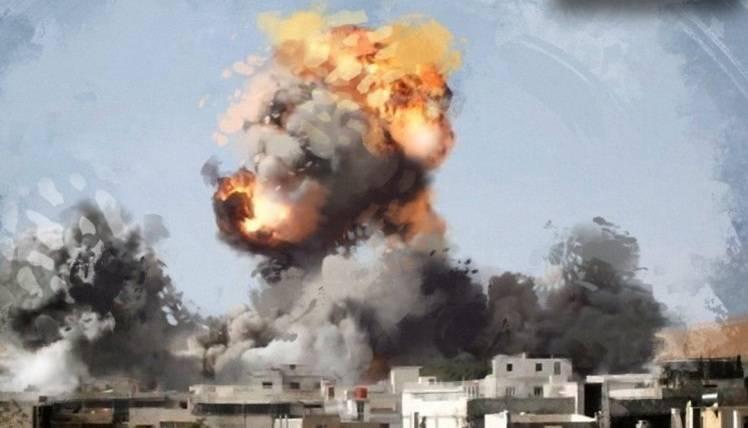Появились кадры с места ракетной атаки Израиля по авиабазе Нейраб в Алеппо