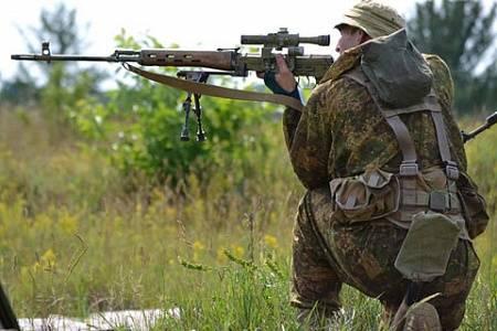 Киев планирует уничтожать ополчение Донбасса снайперским огнем