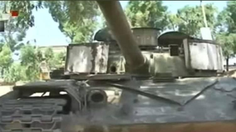 Сирийская армия захватила Т-72