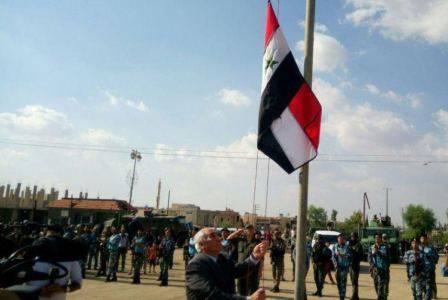 Над древним городом Бусра аш-Шам вновь развивается сирийский флаг