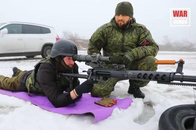 Возможности антиснайперской винтовки