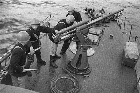 Морские охотники на охране Одесских конвоев