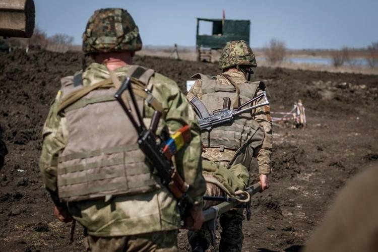 Командование ООС заявило о трех выведенных из строя украинских солдатах