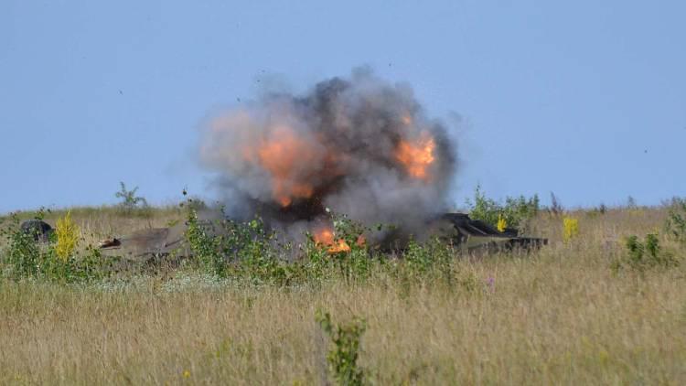 ВСУ под Горловкой обстреляли позиции ополчения Донбасса