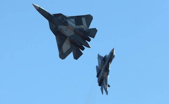 Су-57 будет удирать от F-35, как кошка от собаки
