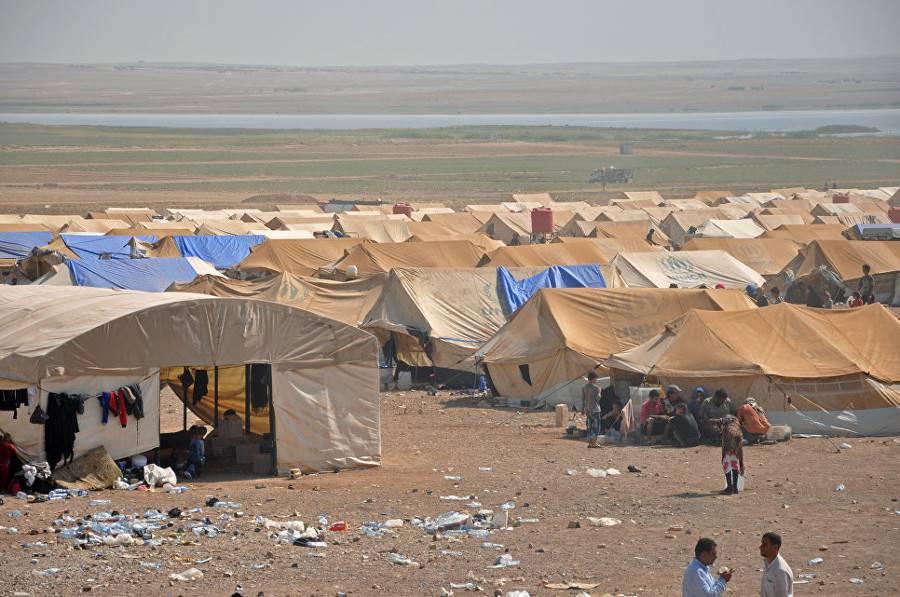 Радикальное решение гуманитарной катастрофы в лагере беженцев Эр-Рукбан