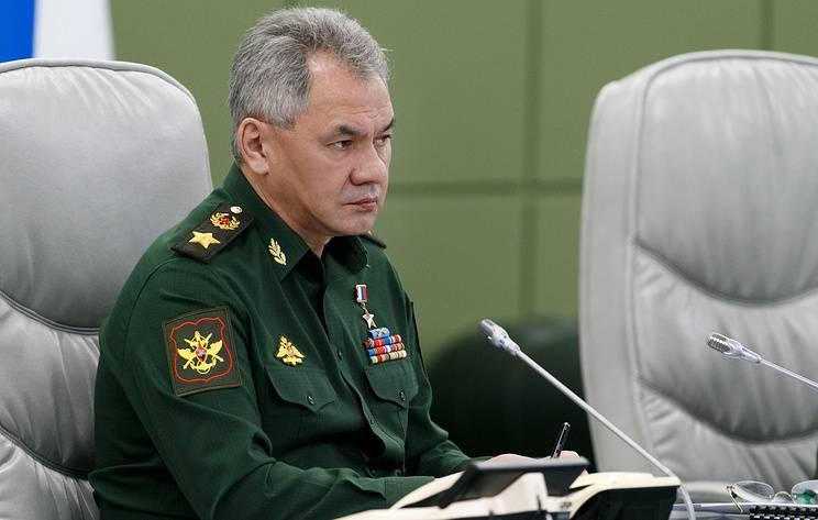 Шойгу: войска получили более 600 единиц вооружения и техники
