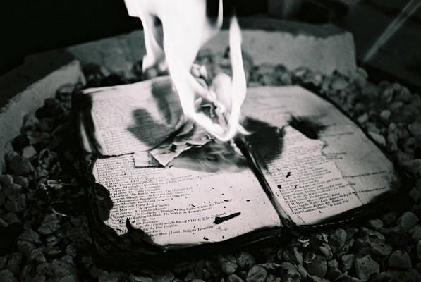 Приказ, сожженный в печи