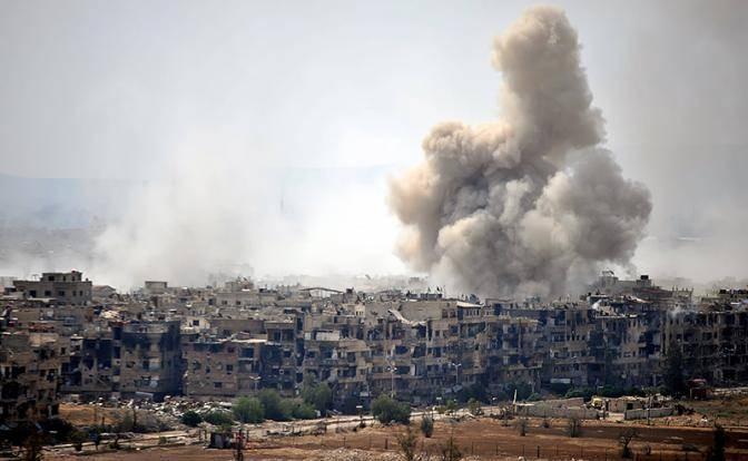 США и ИГИЛ объединились и бомбят сирийских беженцев