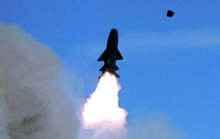 АПРК «Томск» запустил ракету «Гранит»
