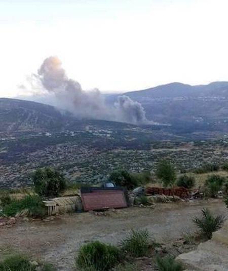 ВВС Израиля разнесли сирийский завод в 8 км от комплексов С-400