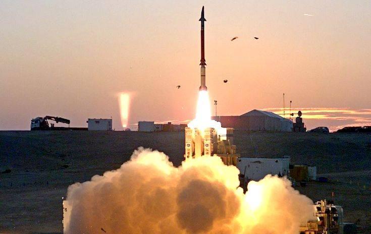 Израиль впервые на границе с Сирией применил систему ПРО «Праща Давида»