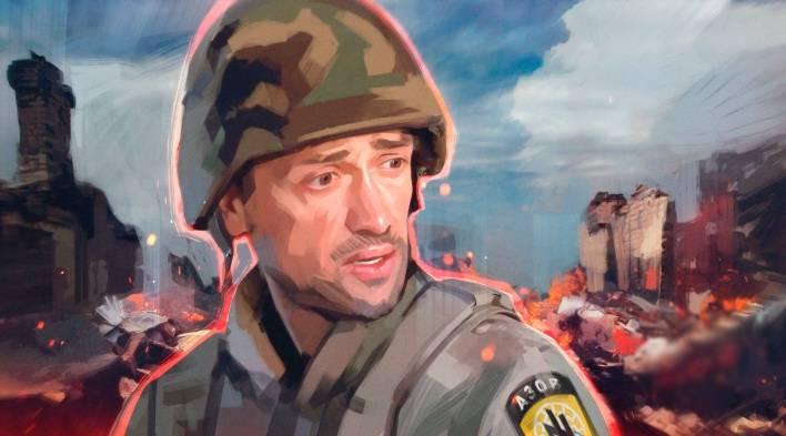 Украина скатилась в прошлый век: Пашинин жалуется тяжелую службу в Донбассе