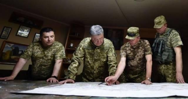 Пылающий Донбасс – воплощенная мечта Киева