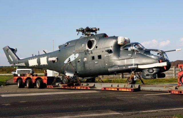 Венгрия возвращается к Ми-24